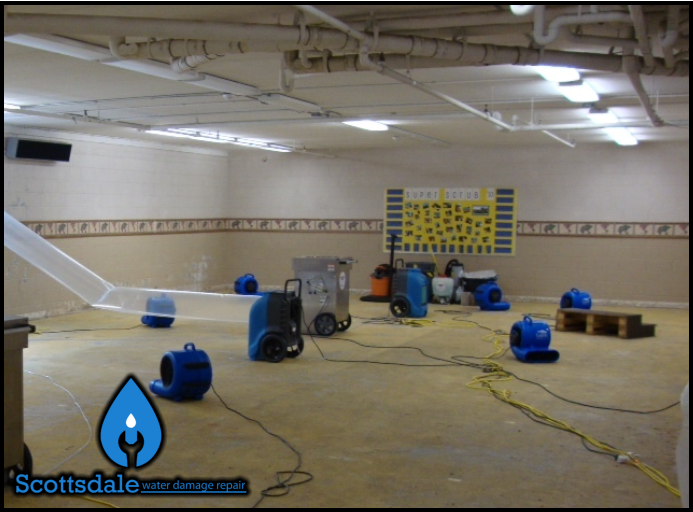 49 scottsdale water damage repair commercial removal