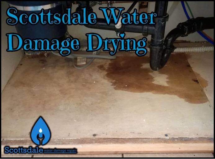 Scottsdale Water Damage Drying